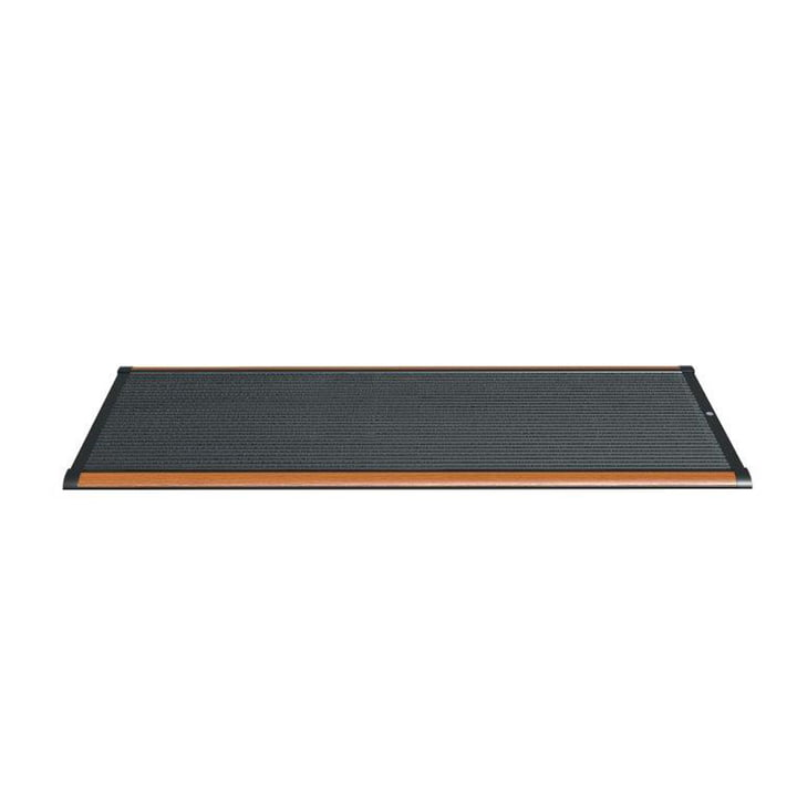 Doormat Outdoor 120 × 70 cm from Rizz in teak / anthracite