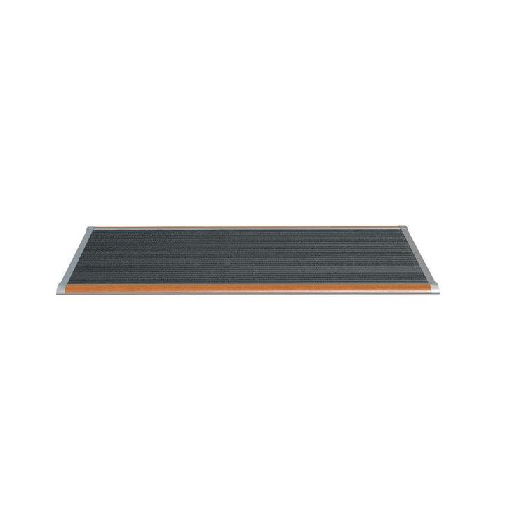 Doormat Outdoor 90 × 60 cm from Rizz in teak / white