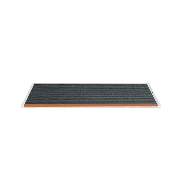 Doormat Outdoor 90 × 60 cm from Rizz in teak / silver