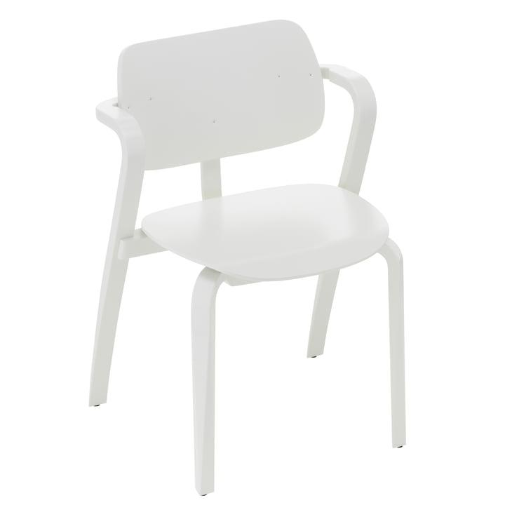 Aslak Chair, painted white by Artek