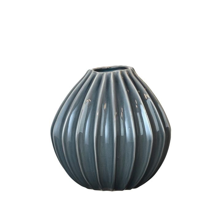 Wide Vase, Ø 30 x H 30 cm, blue mirage from Broste Copenhagen