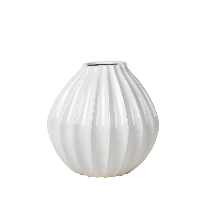 Wide Vase, Ø 30 x H 30 cm, ivory from Broste Copenhagen