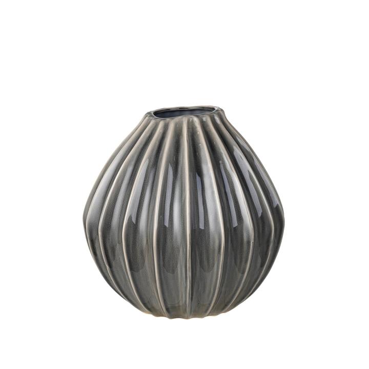 Wide Vase, Ø 30 x H 30 cm, smoked pearl from Broste Copenhagen