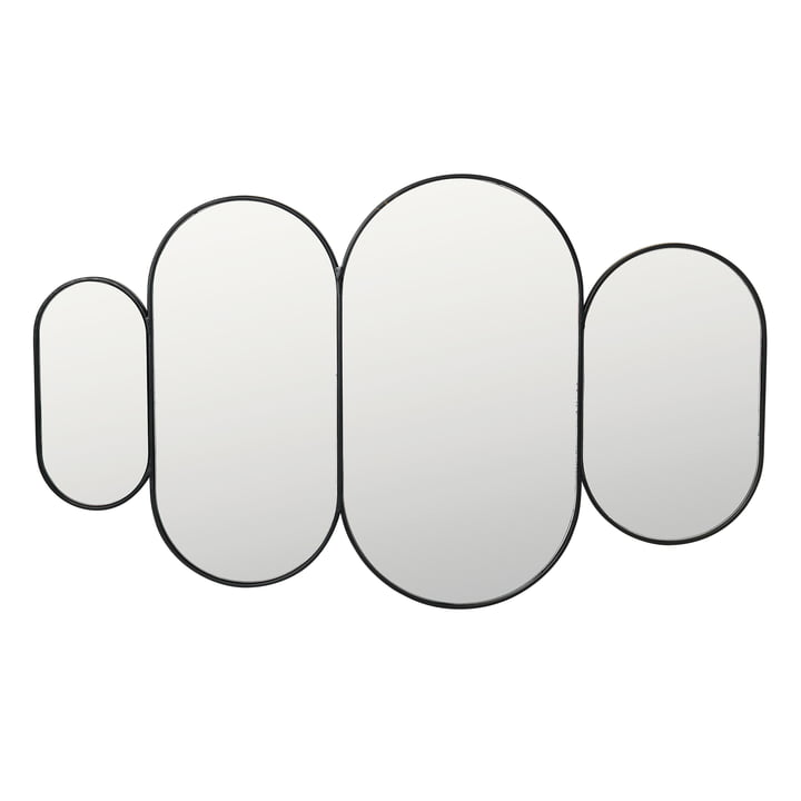 Pelle Mirror XL, black from Broste Copenhagen