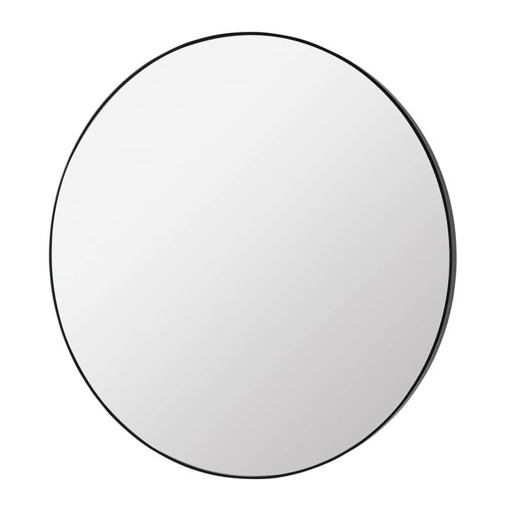 Complete Mirror Ø 110 cm, black from Broste Copenhagen