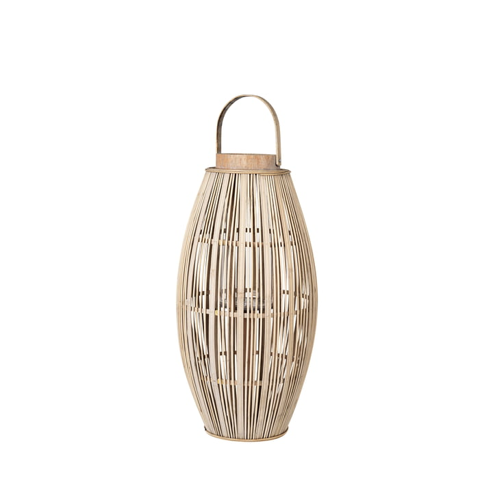 Aleta Bamboo lantern, Ø 31,5 x H 62,5 cm, natural from Broste Copenhagen