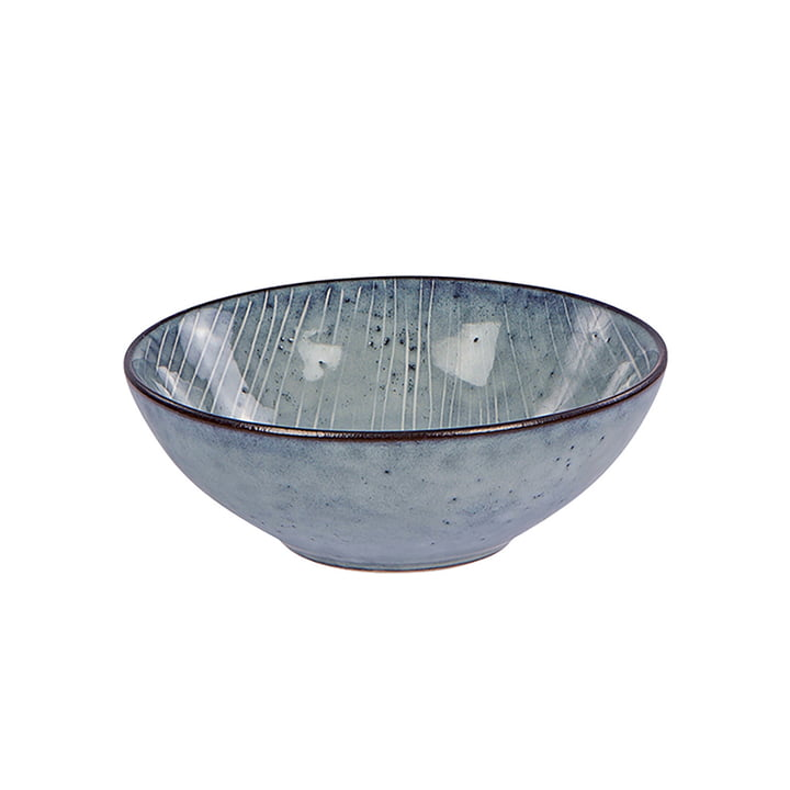 Nordic bowl, Ø 17 x H 6 cm, sea by Broste Copenhagen