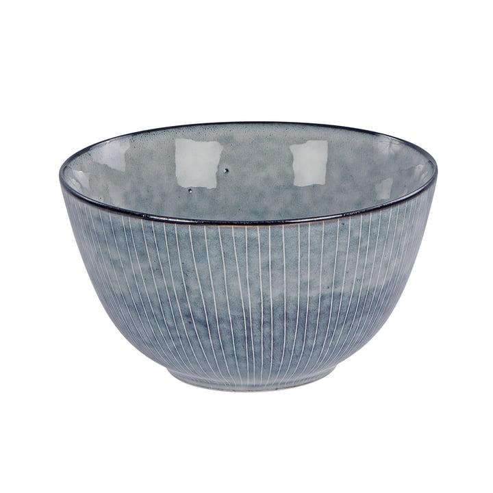 Nordic bowl, Ø 20 x H 11 cm, sea by Broste Copenhagen