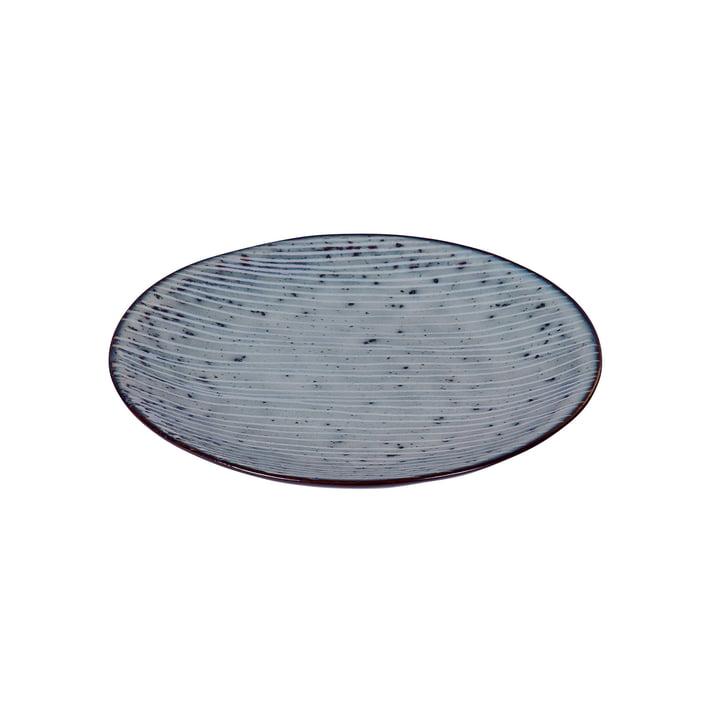 Nordic Plate, Ø 15 x H 2 cm, sea from Broste Copenhagen