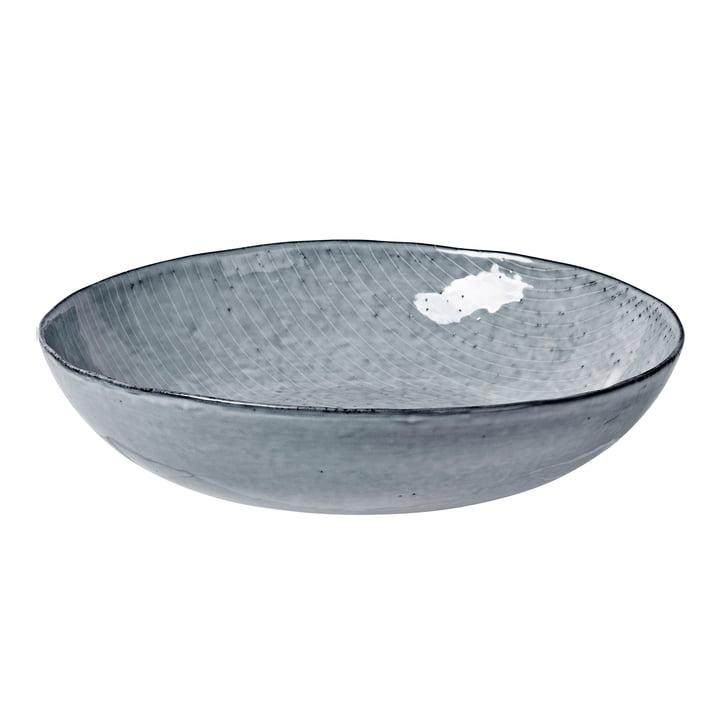 Nordic bowl, Ø 34.5 x H 7.5 cm, sea by Broste Copenhagen