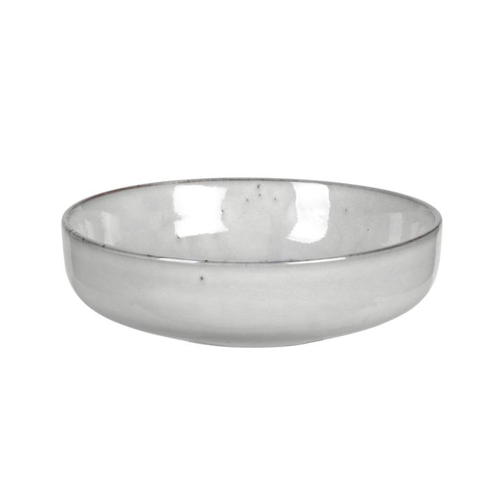 Nordic deep bowl, Ø 17 x H 5 cm, sand from Broste Copenhagen