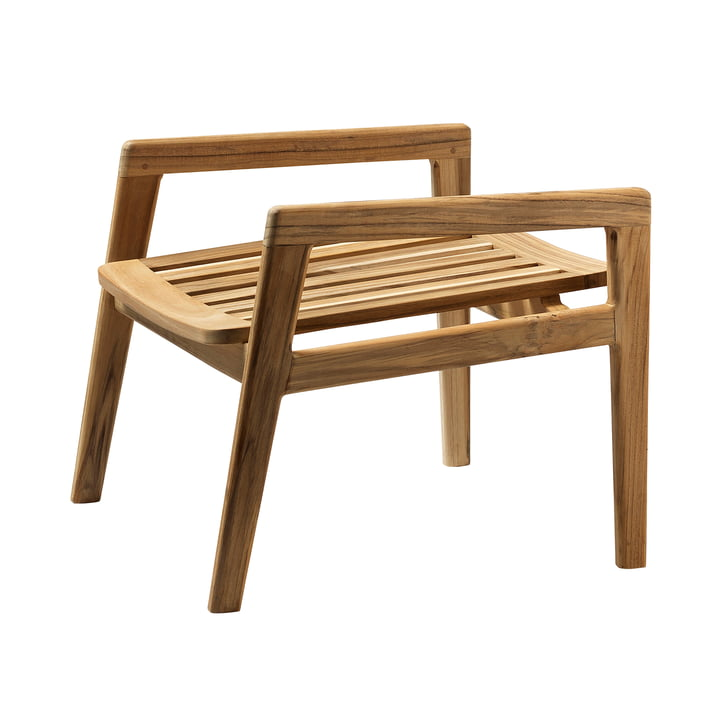 M7 Stool from FDB Møbler teak