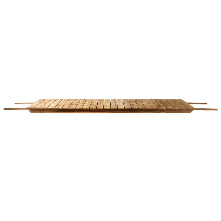 M4 extension for garden table M2 and M3 large 90 x 104,5 cm from FDB Møbler teak