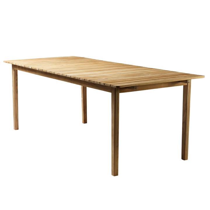 M2 Garden table 90 x 219,5 cm from FDB Møbler teak