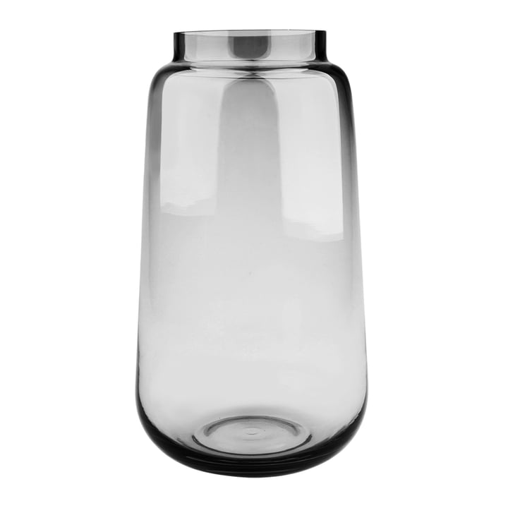 Bou Vase Ø 17 x H 30 cm, grey from Connox Collection