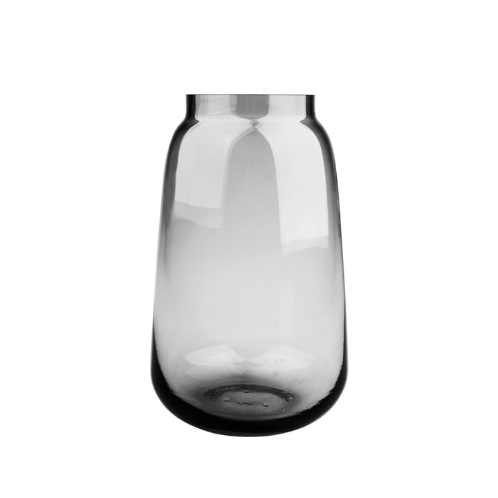 Bou Vase Ø 15 x H 24 cm, grey from Connox Collection