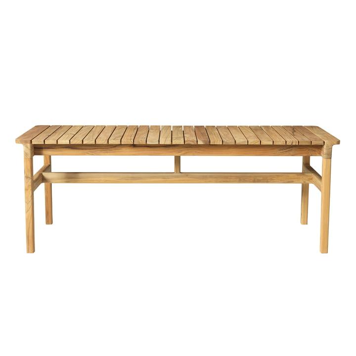 M13 garden bench 50 x 126,5 cm from FDB Møbler teak