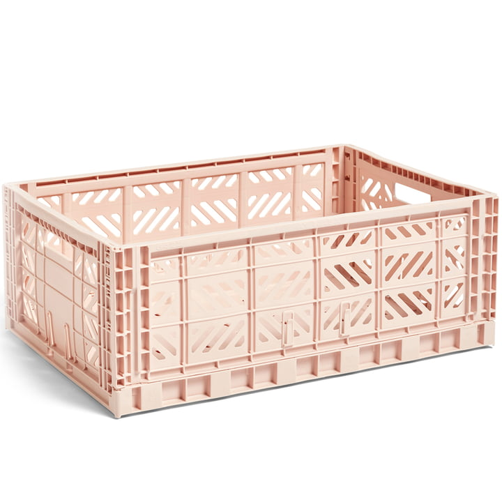 Colour Crate basket L 60 x 40 cm from Hay in nude