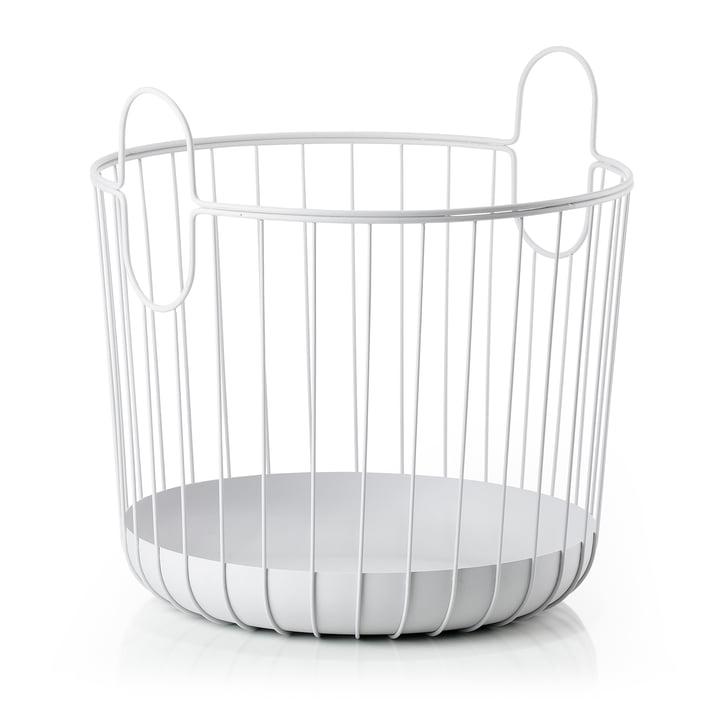 Inu Storage basket Ø 40.6 x H 41.1 cm from Zone Denmark in soft grey