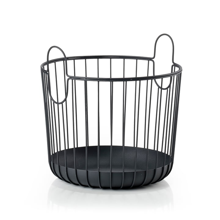 Inu Storage basket Ø 30 x H 30,5 cm from Zone Denmark in black