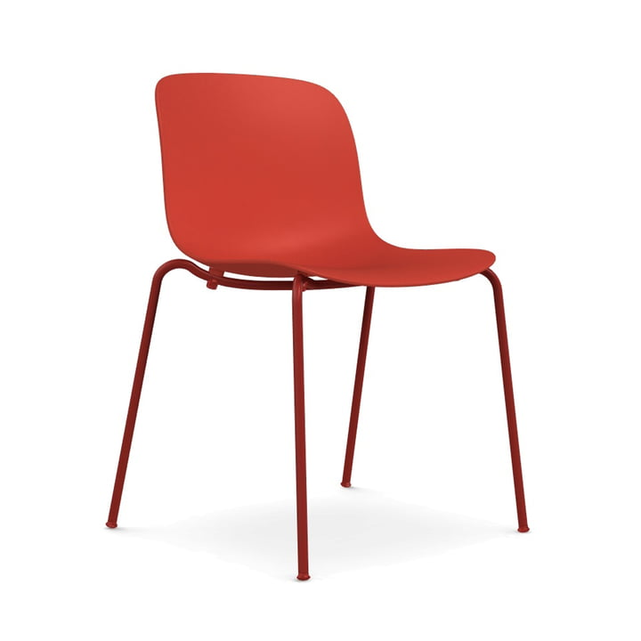 Troy chair polypropylene of Magis in red / red (1483 C)