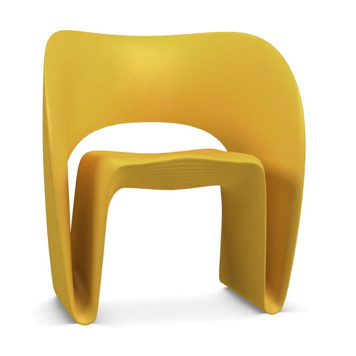 Raviolo Armchair from Magis in yellow