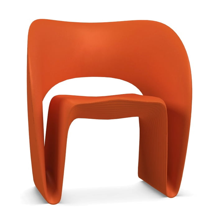 Raviolo Armchair from Magis in orange