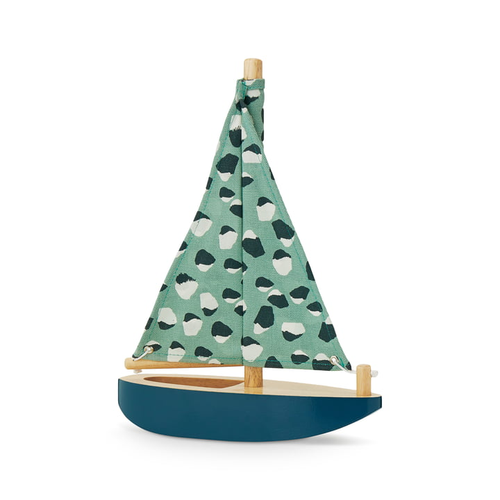 Harbour Boat from Nofred in petrol blue