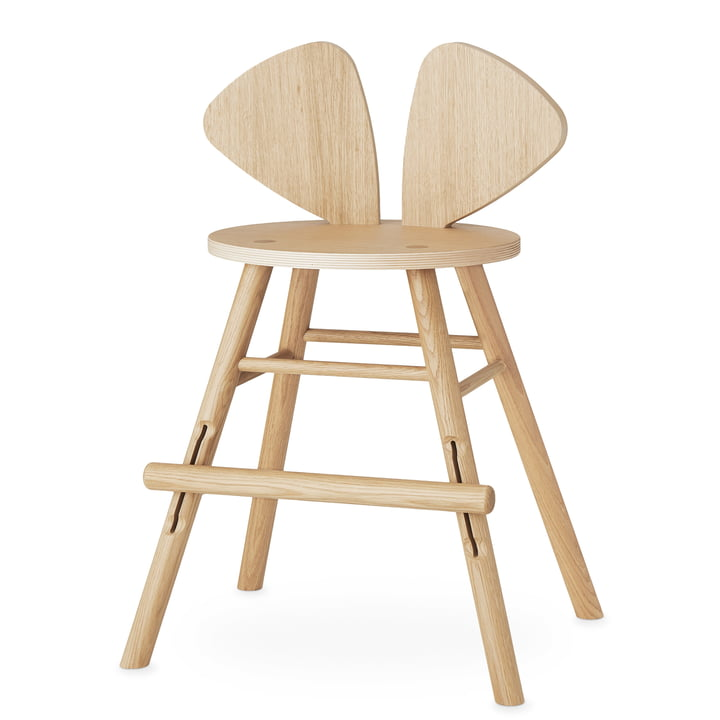 Mouse Junior chair from Nofred in oak matt lacquered
