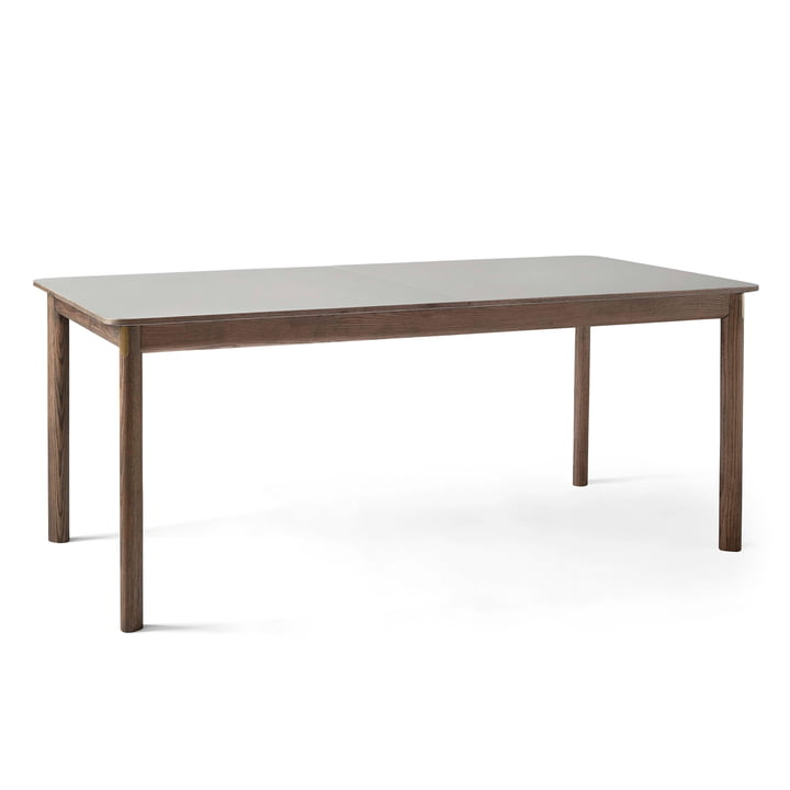 Patch HW1 Dining table 180 x 90 cm from & tradition in smoked oak / Fenix Nano laminate giogio londra 0718