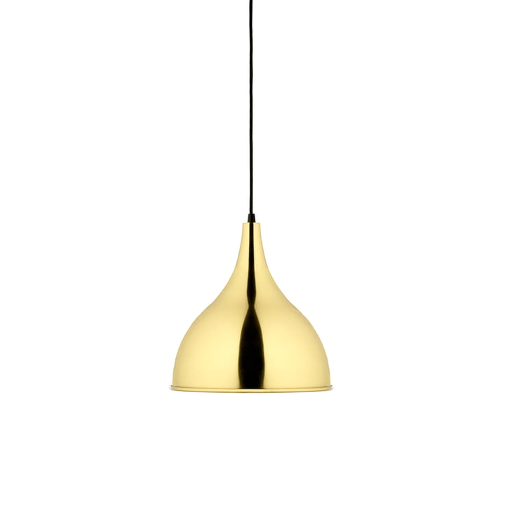 Silhuet P2 pendant lamp by Fritz Hansen in Ø 29.5 cm, polished brass