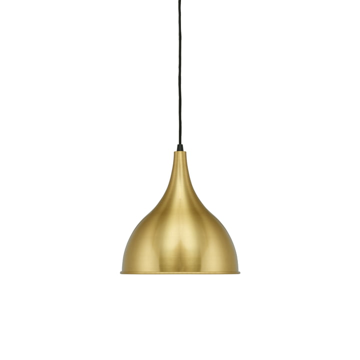 Silhuet P2 pendant lamp by Fritz Hansen in Ø 29.5 cm, brushed brass