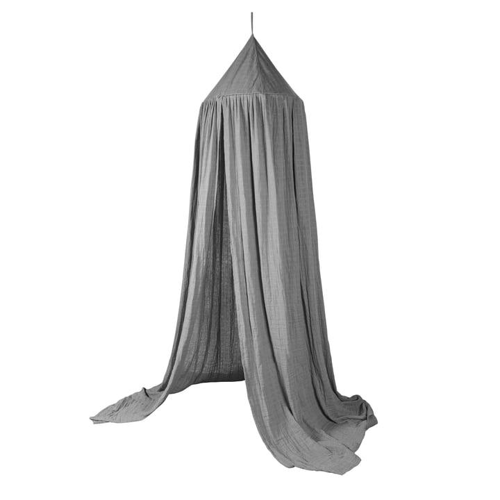 Bed canopy from Sebra in elephant grey
