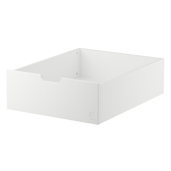Drawer for the Sebra bed, Baby & Junior from Sebra in white
