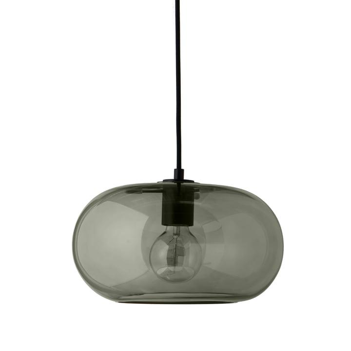 Kobe pendant lamp Ø 30 cm, glass green / black from Frandsen