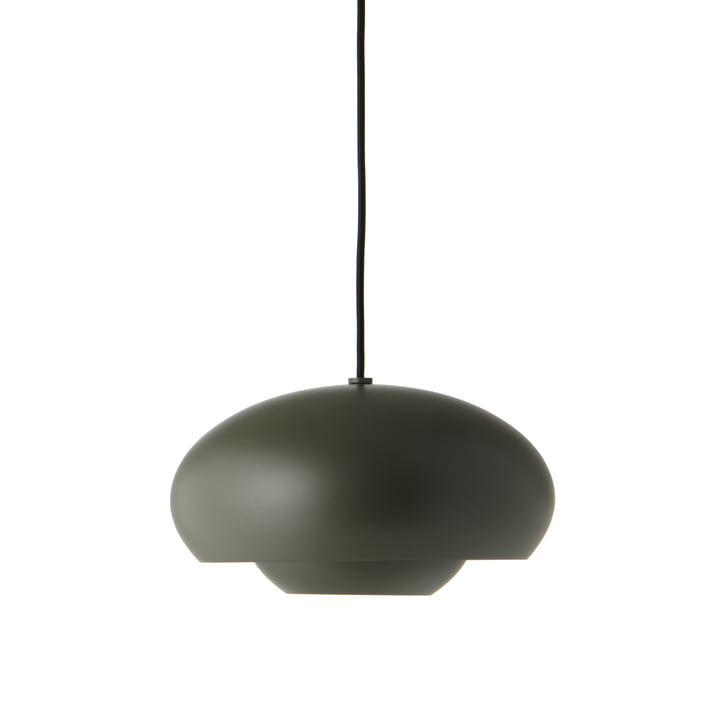 Champ Pendant lamp Ø 30 cm, green matt from Frandsen