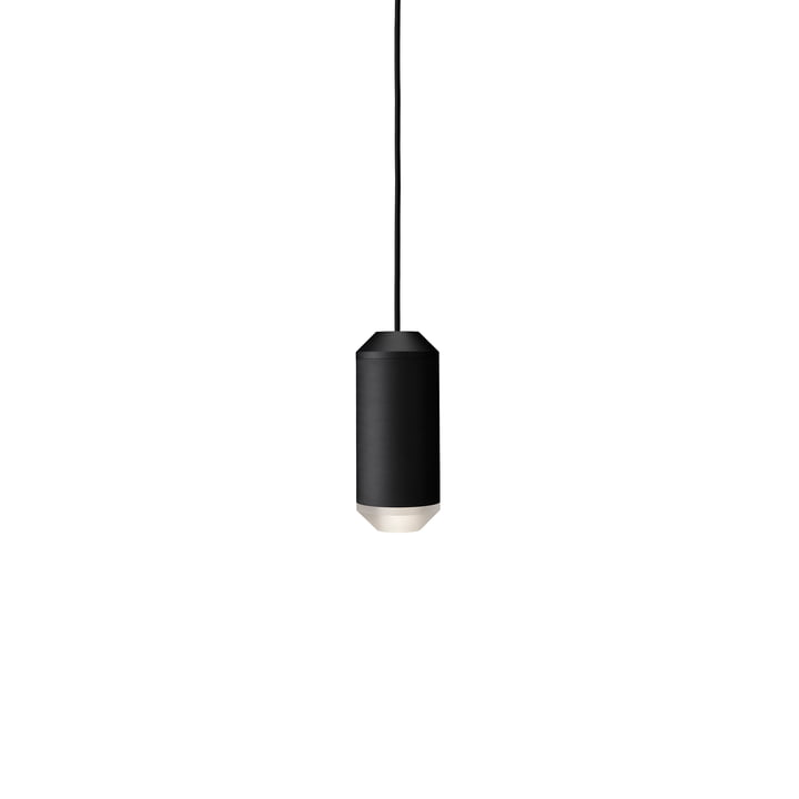 Backbeat Pendant lamp 23,5 cm, acrylic / black from Frandsen