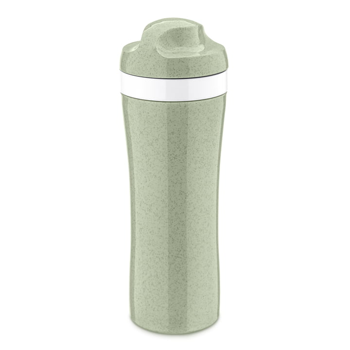 Oase Drinking bottle from Koziol in organic green