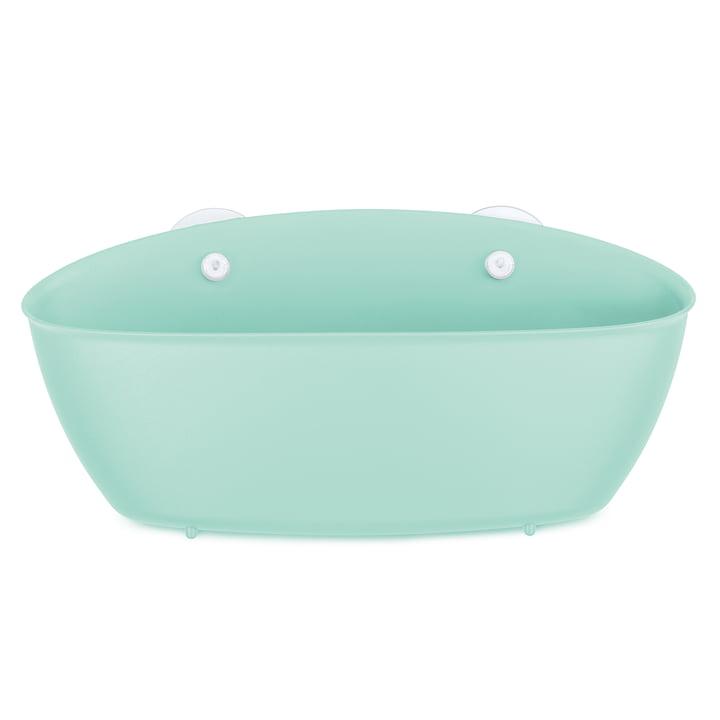 Splash Bathroom silo from Koziol in spa turquoise