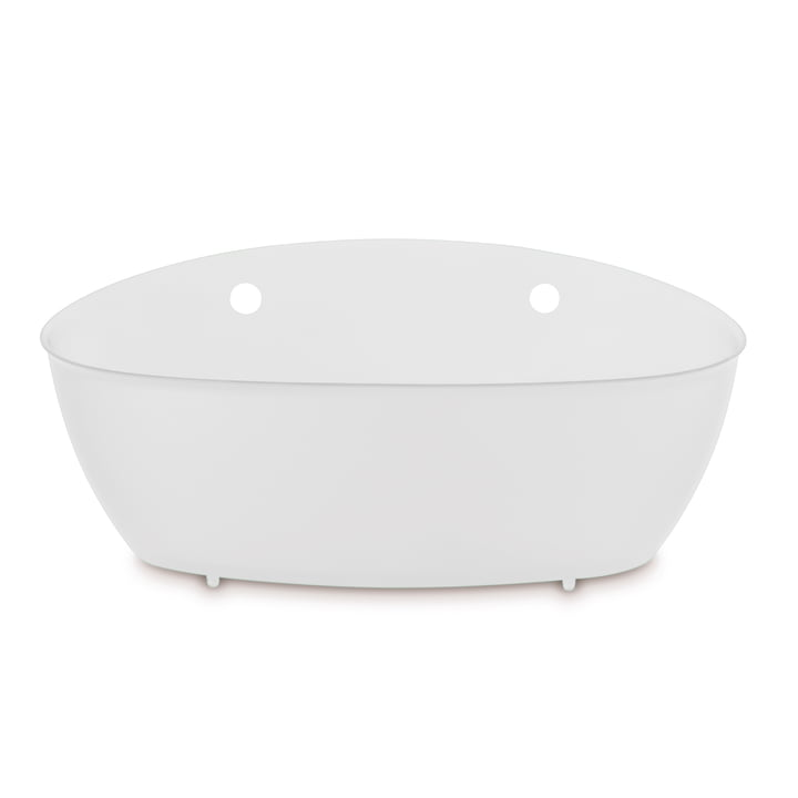 Splash Bathroom silo from Koziol in cotton white