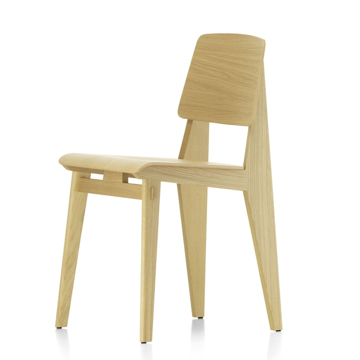 Chaise Tout Bois chair by Vitra in natural oak