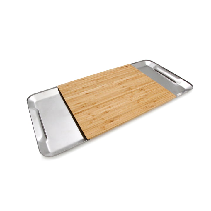 Cutting board Collect Magisso made of bamboo and stainless steel