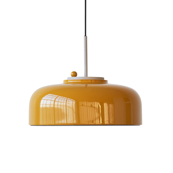 Podgy Pendant lamp Ø 42 cm from Please wait to be seated in turmeric yellow / turmeric yellow