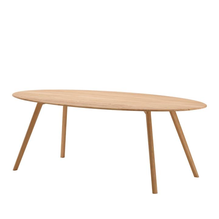 Meyer Table Oval 220 x 120 cm from Objekte unserer Tage oak-waxed