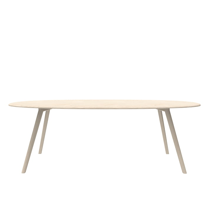 Meyer Table Oval 220 x 120 cm from Objekte unserer Tage ashen