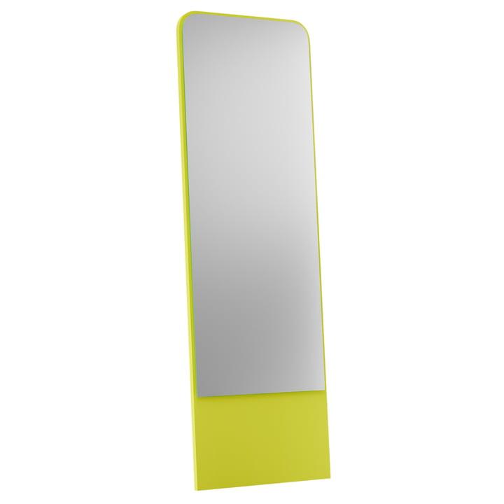 Friedrich Spiegel 60 x 185 cm from Objekte unserer Tage in sulphur yellow