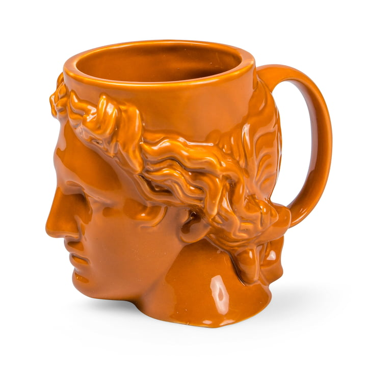 Hestia Mug with handle, terracotta from Doiy