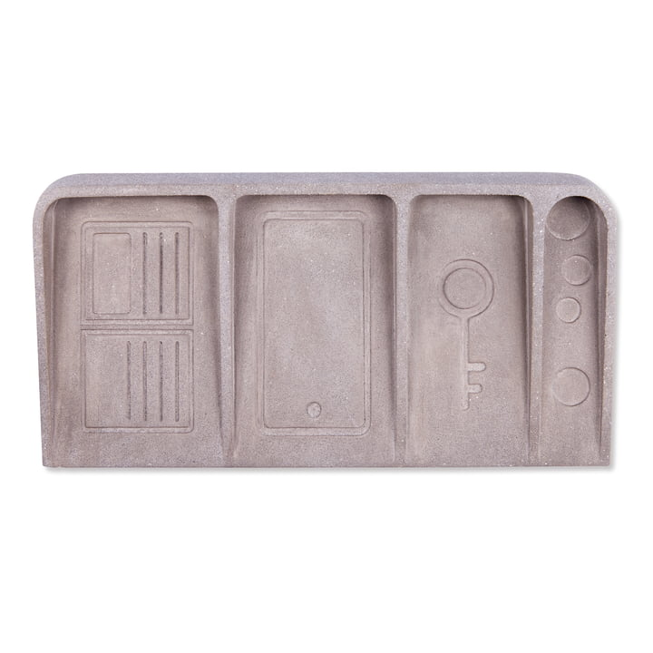 Le Videpoche Shelf, concrete grey from Doiy