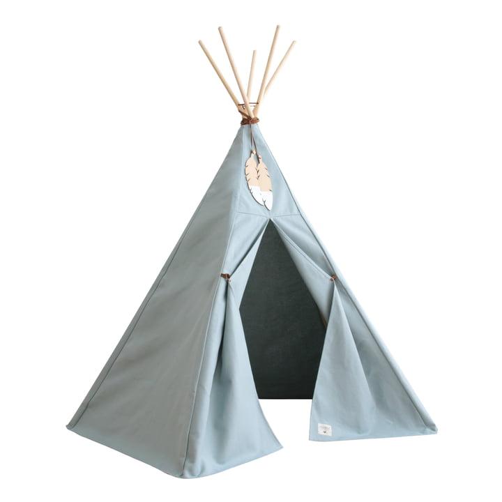 Nevada Tipi -tent, riviera blue by Nobodinoz