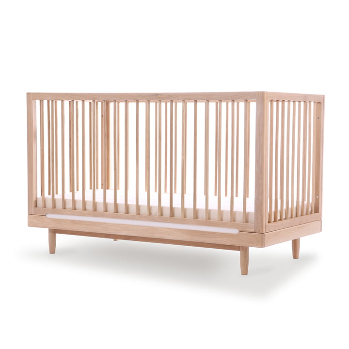 Pure baby bed, 70 x 140 cm, oak by Nobodinoz